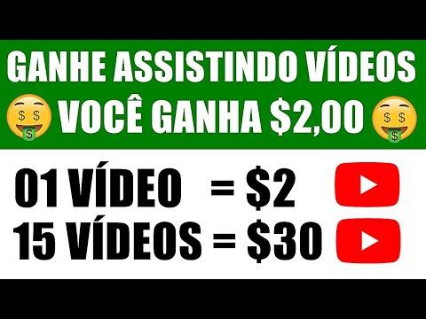 Ganhe $2,00 Para Cada Vídeo que você Assiste! Como Ganhar Dinheiro no Paypal ASSISTINDO VÍDEOS
