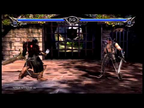 Soul Calibur V: Atom Vs. Arcade Mode (Standard/Normal)