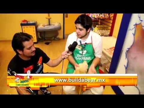 Visitamos Build-A-Bear Workshop Mexico