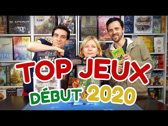 Les meilleurs jeux de société de début 2020