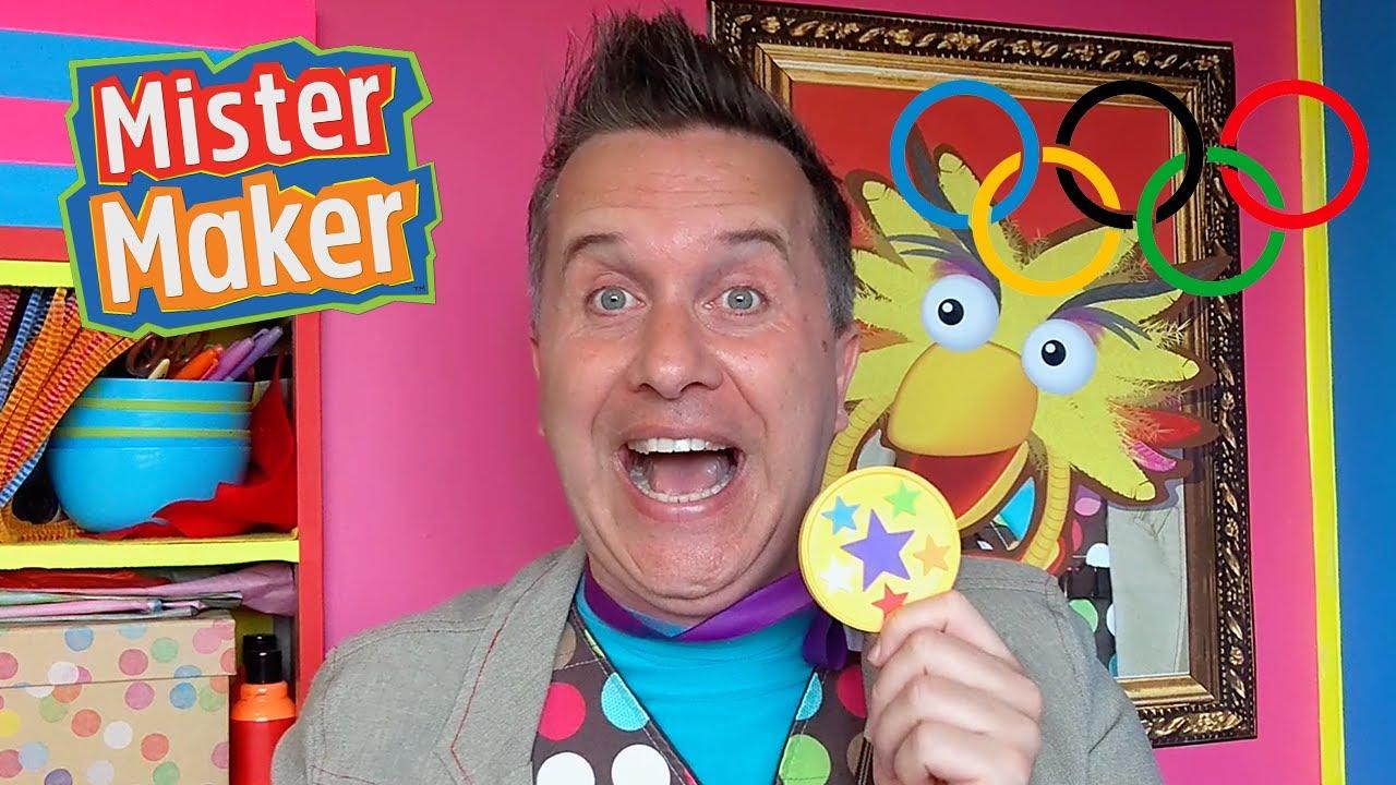 Make it Mister Maker: Olympic Gold Medal Make 🏅