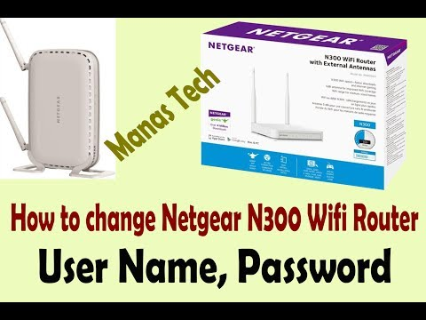 How to change Netgear router WiFi Name & Password?