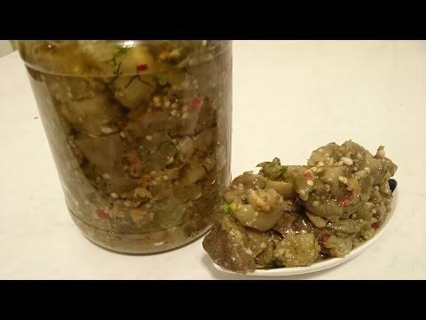 заготовки грибы на зиму рецепты пошагово