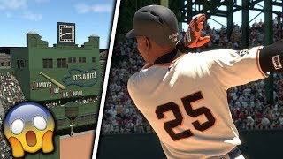 Can Barry Bonds Hit a Dead Center Home-Run at Polo Grounds? MLB The Show 18 Challenge