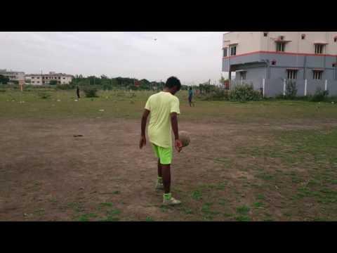Minjur Football footworks by Karthick