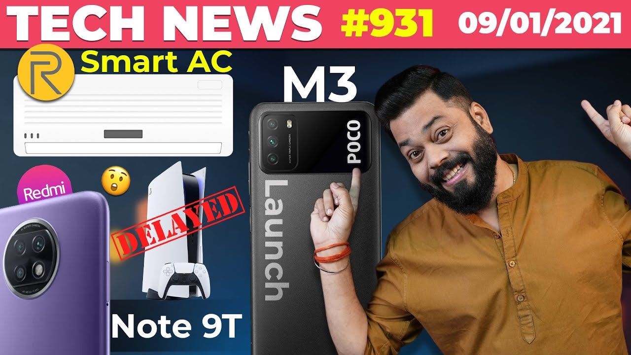 realme Smart AC Coming, POCO M3 India Launch, Redmi Note 9T Launched, PS 5 Delayed, Signal-#TTN931