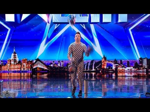 Cover Lagu Britain's Got More Talent 2018 Janne Mustonen Audition S12E05 STAFABAND
