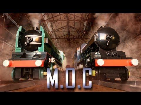 LEGO British Steam Engines #3 (LNER P2, GWR King) - MOC Showcase