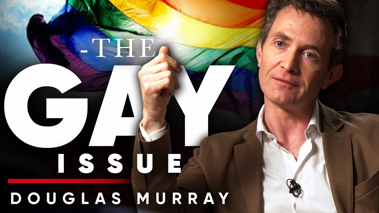 DOUGLAS MURRAY - WHAT IS THE GAY ISSUE? | London Real