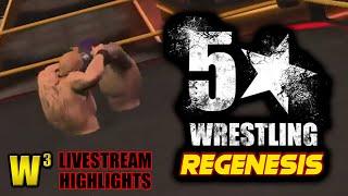 5 Star Wrestling ReGenesis is TERRIBLE! | Wregret Livestream Highlights (May 10, 2019)