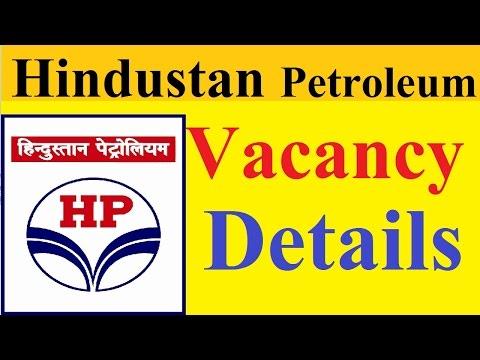 Hindustan Petroleum Corporation Limited Vacancy Details | Apply For Technician|