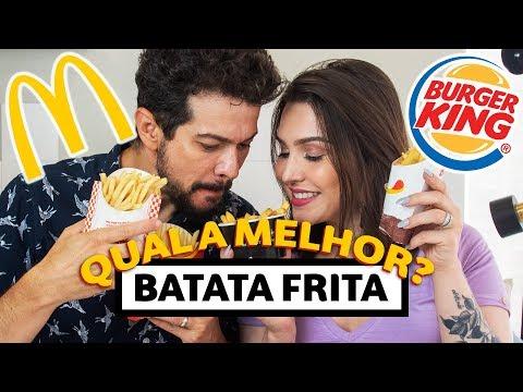 Qual a MELHOR BATATA FRITA? | DEGUSTACHATA | Lu Ferreira