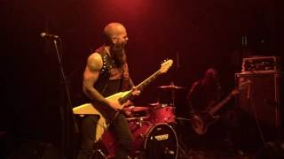 """Grand Magus performs """"I, The Jury"""" & Sword Of The Ocean"""" live in Athens @Fuzz, 02.12.2016"""