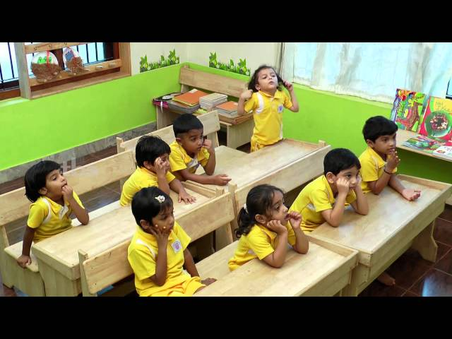poorna classroom demonstration English