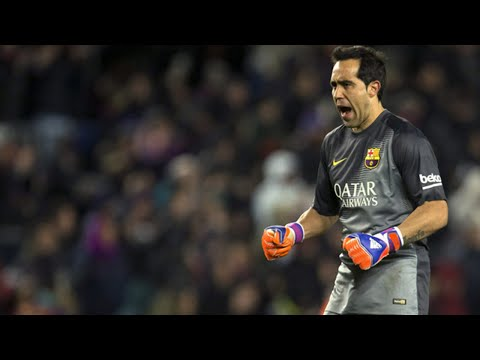 Claudio Bravo - FC Barcelona - Best Saves - 2014/15 HD