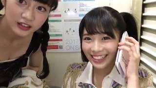 2017年12月05日 SHOWROOM 安田桃寧、東由樹.