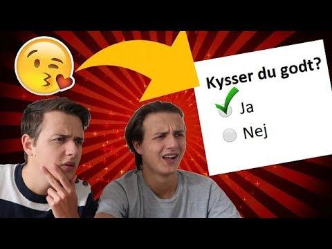 TEST DIG SELV: Hvilken Type Kysser Vi Med?!