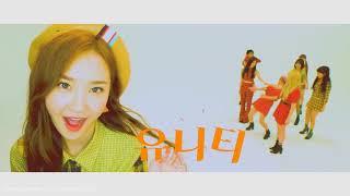 UNI.T - 난말야 (I mean) (Rania - POP POP POP (Inst.)) | MASHUP