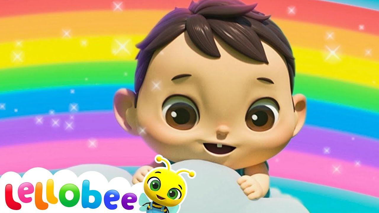 Learn Colors Song | Nursery Rhyme & Kids Song - ABCs and 123s | Little Baby Bum