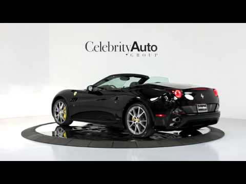 "2012 FERRARI CALIFORNIA MAGNERIDE 20"" DIAMOND SPORT WHEELS DAYTONA STYLE SEATS"