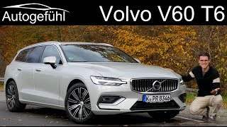 Volvo V60 T6 Inscription FULL REVIEW 2019 - Autogefühl