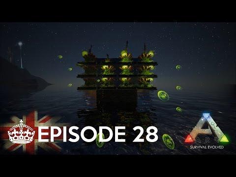 ARK: Survival Evolved   S01E28 - Building the Battleship! (Plant Species X)