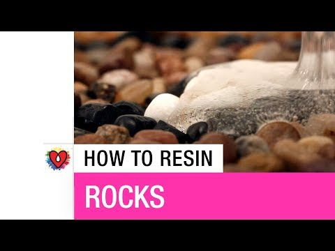 How To Resin Rocks