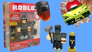 Roblox Toy Car Crusher, Series 4, Code Item, Unboxing & Toy Review, Panwellz