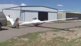 PBS TJ 100 A flying tests on a jet engined Salto