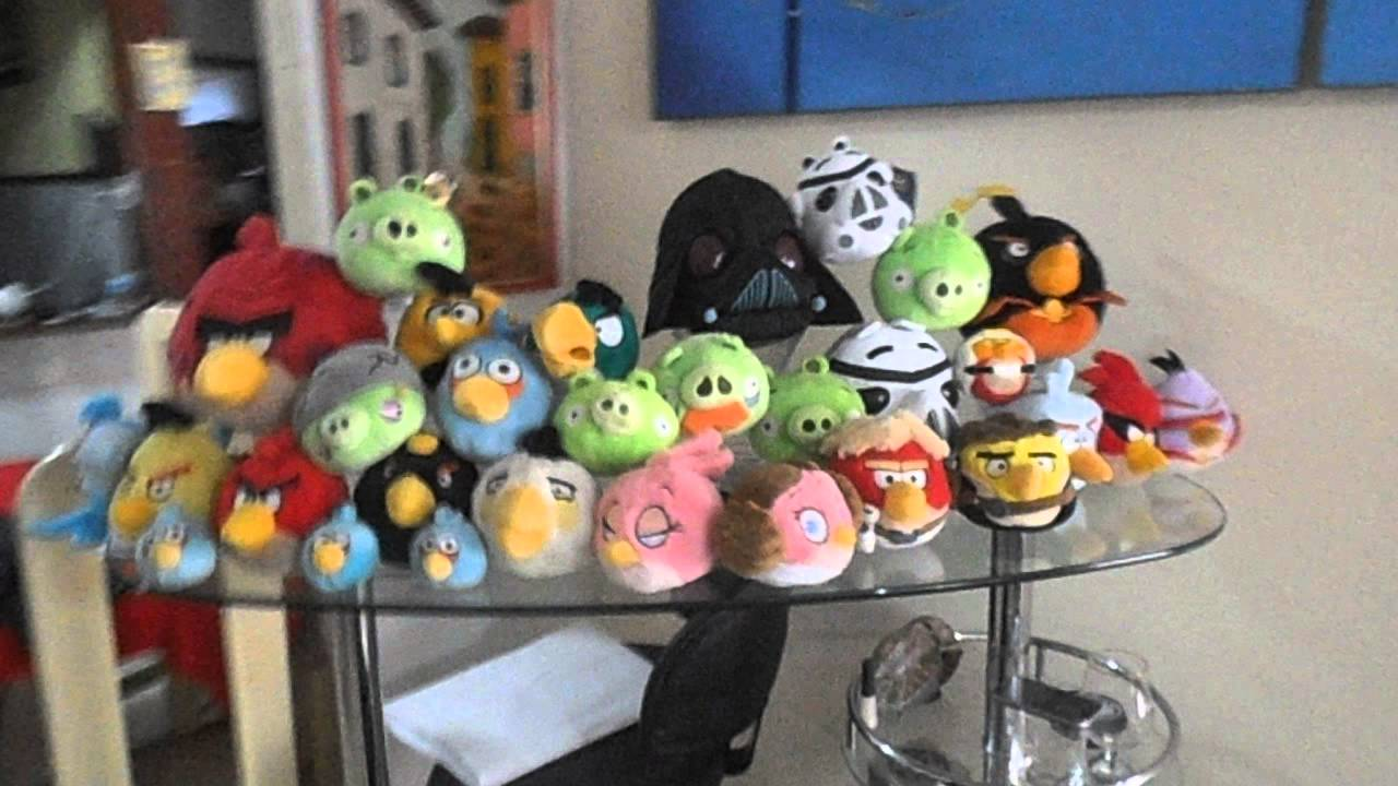 Angry Birds Plush Collection Youtube