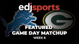 Featured Gameday Matchup Monday Night Football - Week 6