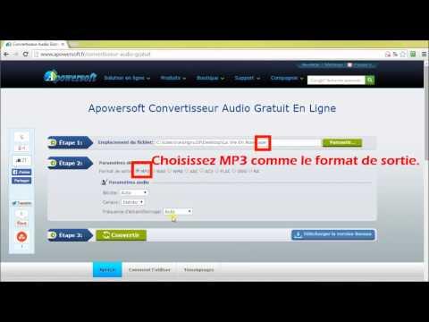 Comment faire pour convertir un fichier APE en MP3?