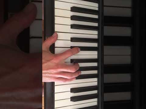 Your Heart is as black as night - Melody Gardot - piano tutorial