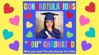 """Congratulations"" written and performed by Miss Joy from The Joy House TV Show for kids"