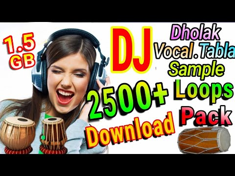 Dholki Sample Loops Pack 400+ Free Download (Tabla,Vocal,etc)in Hindi