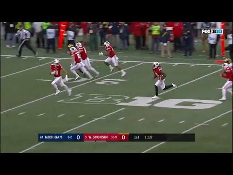 Nick Nelson 50-YD Punt Return vs. Michigan