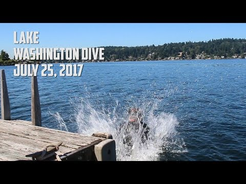 Lake Washington SCUBA Dive, 7-25-2017