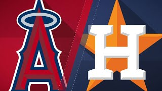 Astros ride 5-run 8th to beat Angels: 9/1/18