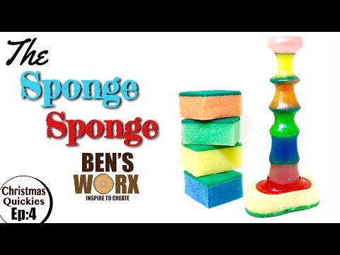 Turning Resin and Sponge into a Sponge