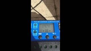 Tygodniowe podsumowanie testu - zestawu fotowoltaicznego (bateria słoneczna)  CZ1.