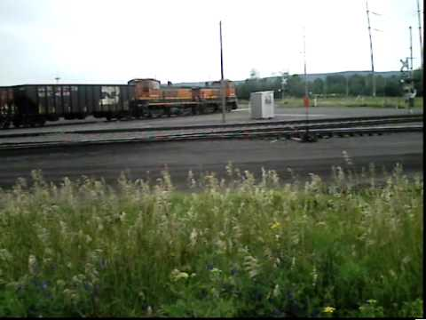 BNSF in Superior WI