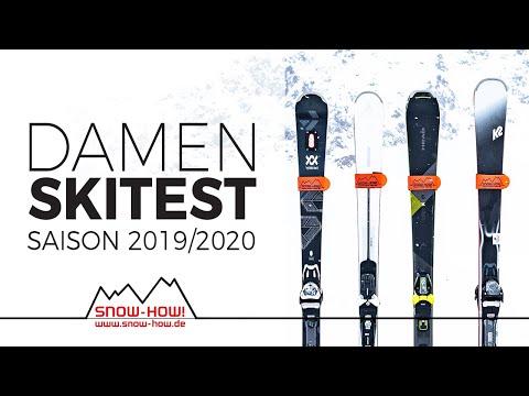SKITEST: Damen Ski 2019/20 | ATOMIC Cloud  - K2 Anthem - HEAD SuperJoy - VÖLKL Flair