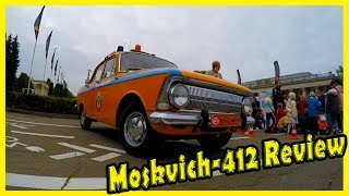 Classic Soviet Car Moskvich-412 Review. History of Moskvich-412. Classic Russian Vehicles 70s