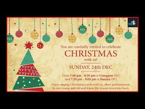Living Word Church Mumbai Christmas Celebration Sunday, 24th December 2017