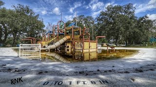 ABANDONED WATER PARK, FLORIDA  *GIANT ALLIGATOR SCARED ME*