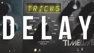 TRICKI Z DELAYEM || Kreujemy Niesamowite Brzmienia za Pomocą Gitary