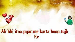 Ab Bhi Itna Pyar Mai Karta Hu tujhse Agle Sau Janam Bhi Tere Sath Marunga Hindi Status Video