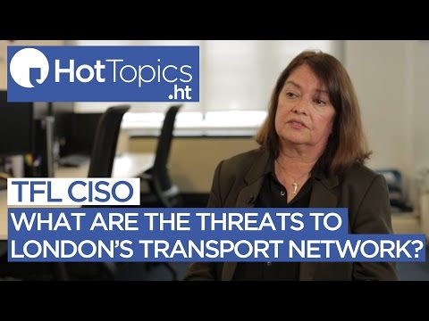 What are the threats to London's transport network?
