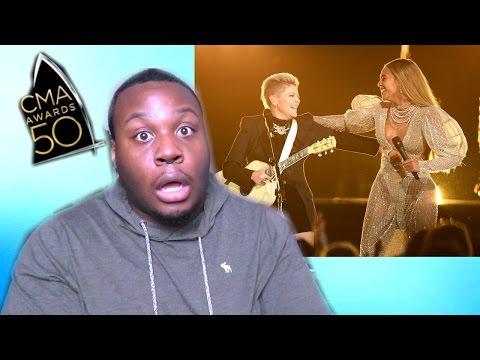 "BEYONCE ""CMA 2016"" (REACTION)"