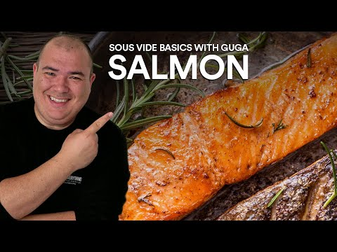 Sous Vide Basics: SALMON and SAUCES